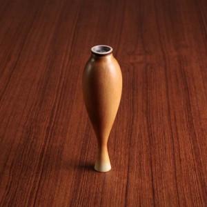 ベルント・フリーベリ ミニチュア花瓶(黄茶) 1949(S)