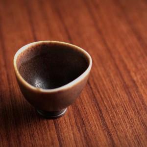 ベルント・フリーベリ ミニチュアボウル(茶) 1962(d)