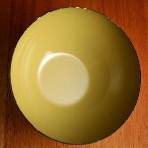 キャサリンホルム ロータス 14cm ボウル オリーブ&ホワイト