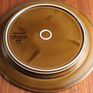 アラビア コスモス 26cmプレート