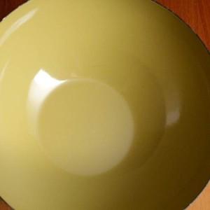 キャサリンホルム ロータス 20cm ボウル オリーブ&ホワイト