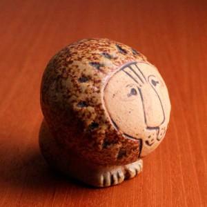 リサ・ラーソン 人形 アフリカ ライオン