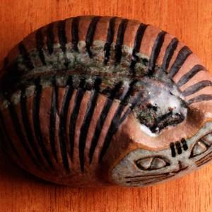 リサ・ラーソン 人形 小さな動物園 ネコ 真ん丸