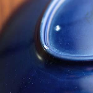 ロールストランド 青い炎 デザートプレート