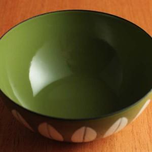 キャサリンホルム ロータス 10cmボウル  グリーン&ホワイト