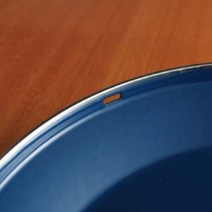 キャサリンホルム ロータス 27cm 両手鍋 ブルー&ホワイト
