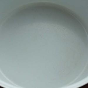 キャサリンホルム ロータス 27cm 両手鍋 ホワイト&グリーン